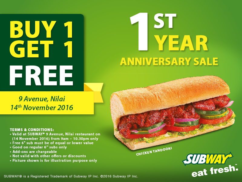 Subway Coupon Codes, Promos & Sales. For Subway coupon codes and sales, just follow this link to the website to browse their current offerings. And while you're there, sign up for emails to get alerts about discounts and more, right in your inbox.