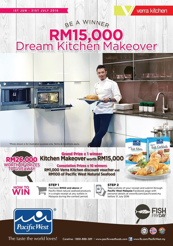 win a dream kitchen makeover contest contests events malaysia