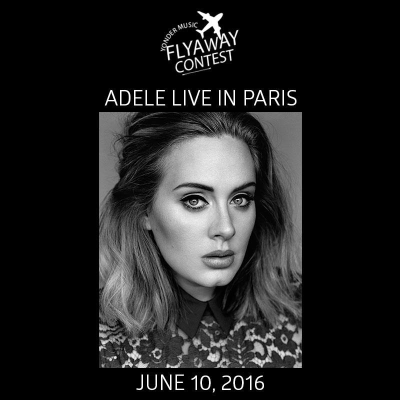 adele sweepstakes yonder adele concert in paris contest contests events 1789